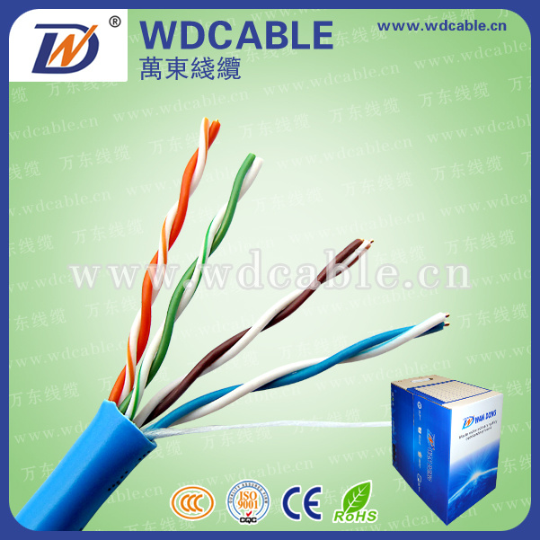 Cat 5e UTP LAN Cable with CE/RoHS Certificate