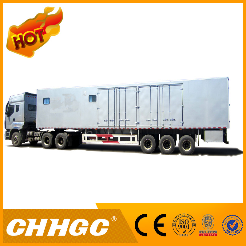 Ce Approved Van Type Semi-Trailer