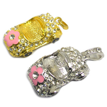 Jewelry USB Flash Drive Diamond Memory Stick Car USB Driver