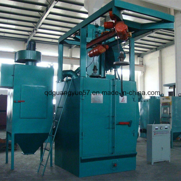 Q378 Hook Type Shot Blasting Machine with Ce ISO