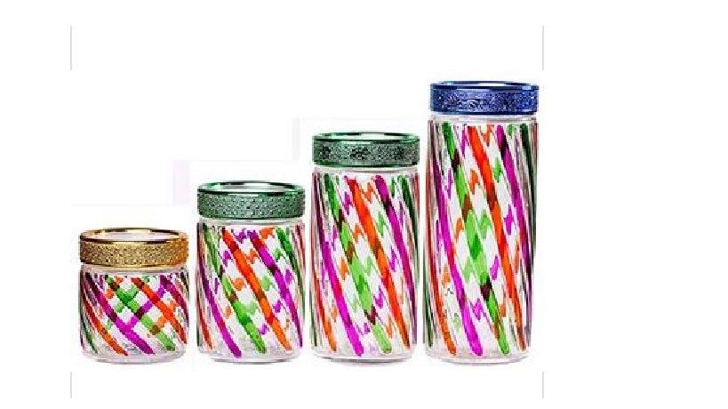 Nice Glass Storage Jar with Lid
