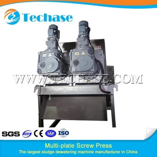 Top Manufacturer Screw Conveyor System for Sludge Dewatering