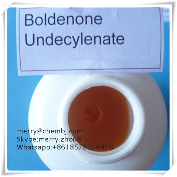 Yellowish Steroid Oily Boldenone Undecylenate, Equipose for Bodybuilders