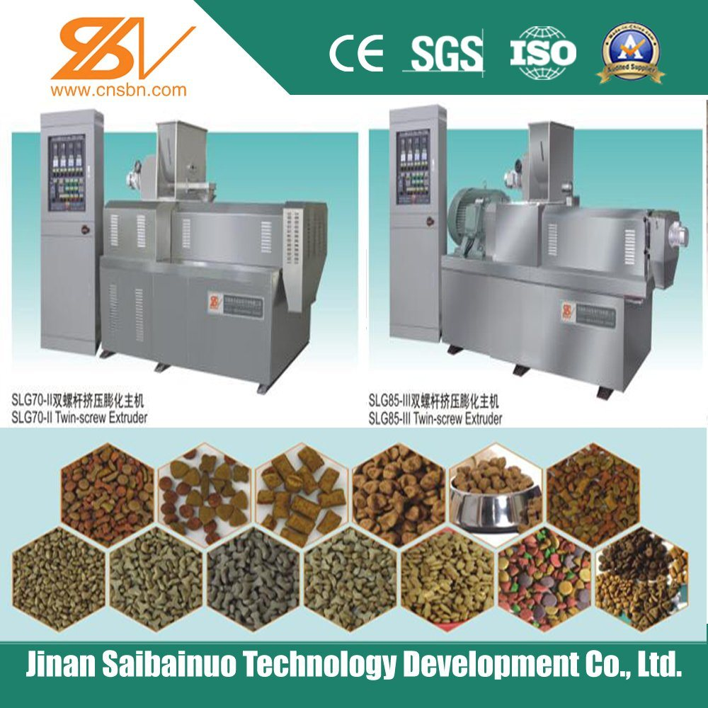 Stainless Steel Automatic Nutritional Dry Pet Food Machine