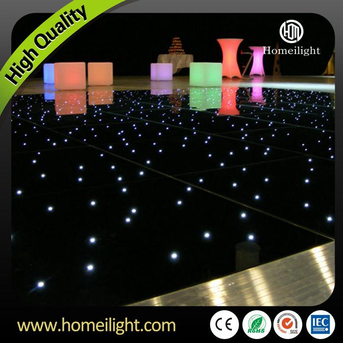 Waterproof Acrylic Starry Dancing Twinkling LED Starlit Dance Floor for Wedding