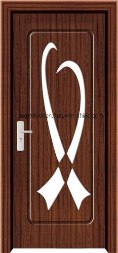 EU Interior Wooden Rounded MDF PVC Door (EI-P090)
