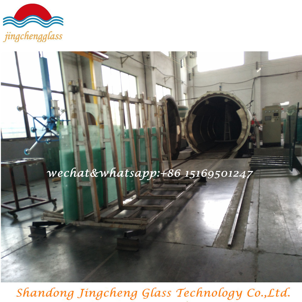 Tempered Laminated Structural Glass with SGS/CCC/ISO Certification