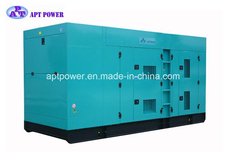 Water Cooled 625kVA Cummins Generator for Industrial