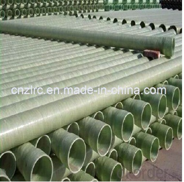 FRP GRP Fiberglass Pipe for Sewage Water Treatment
