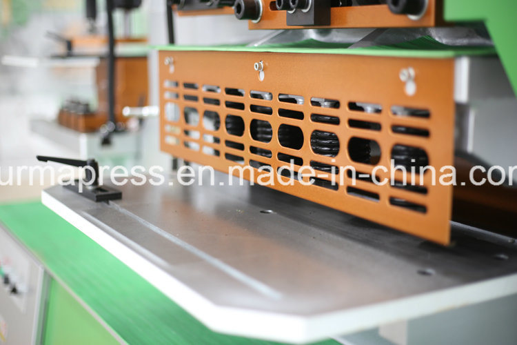 Q35y-30 Hydraulic Steel Palte Round Bar Angle Steel Combined Iron Worker