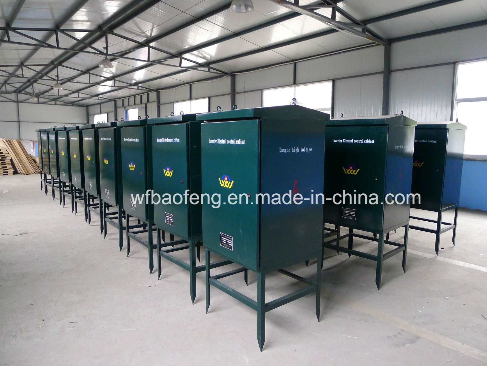 Rotor and Stator VSD Controller Frequency Control Cabinet with Cable