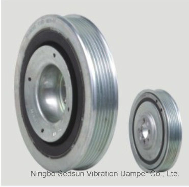 Torsional Vibration Damper / Crankshaft Pulley for Opel 0614571