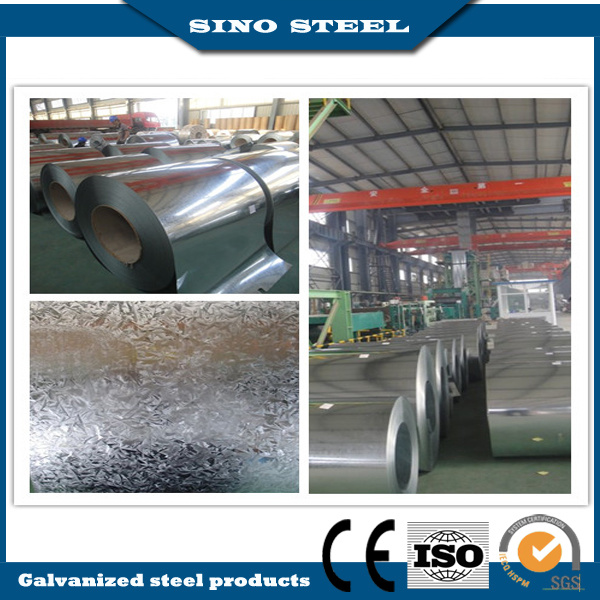 ASTM JIS Cr Hr Gi Zinc Coated Hot Dipped Galvanized Steel Coil for Industry