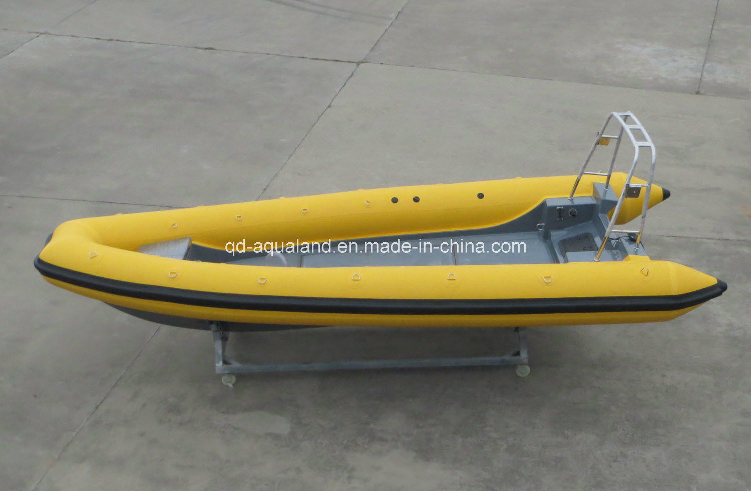 China Aqualand 19feet 5.8m Rigid Inflatable Rescue Patrol Boat/Rib Motor Boat/Fishing Boat (rib580t)