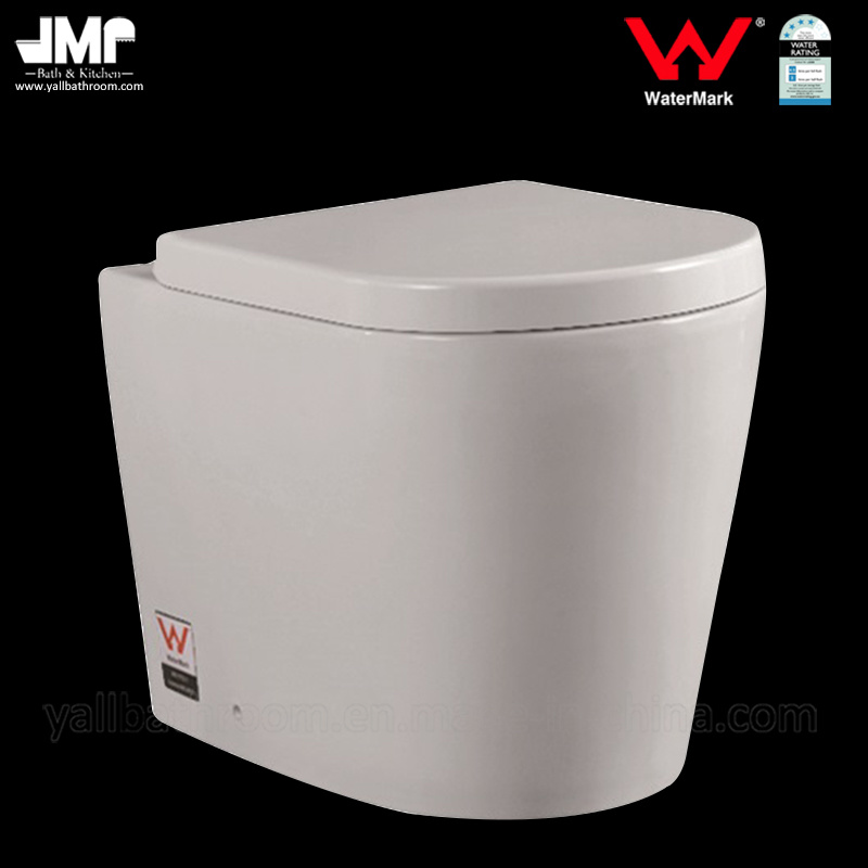 6011 Australian Standard Watermark Wc Pan Bathroom Washdown Ceramic Toilet