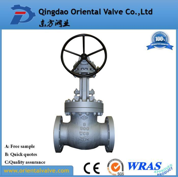 "API 6A UL FM 4"" Inch 3 Inch Flange Wcb Stainless Steel Industrial Gate Valve with Best Price"