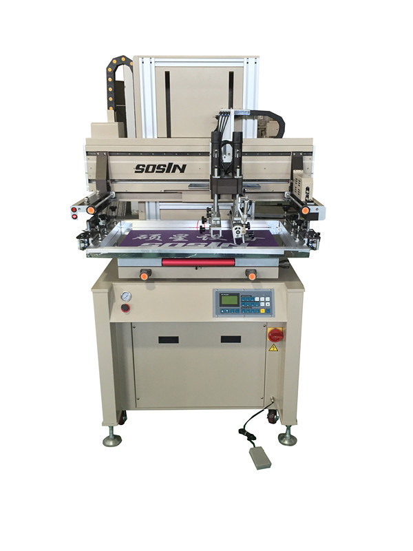 Top Quality Horizontal Screen Printing Machine (servo motor type)