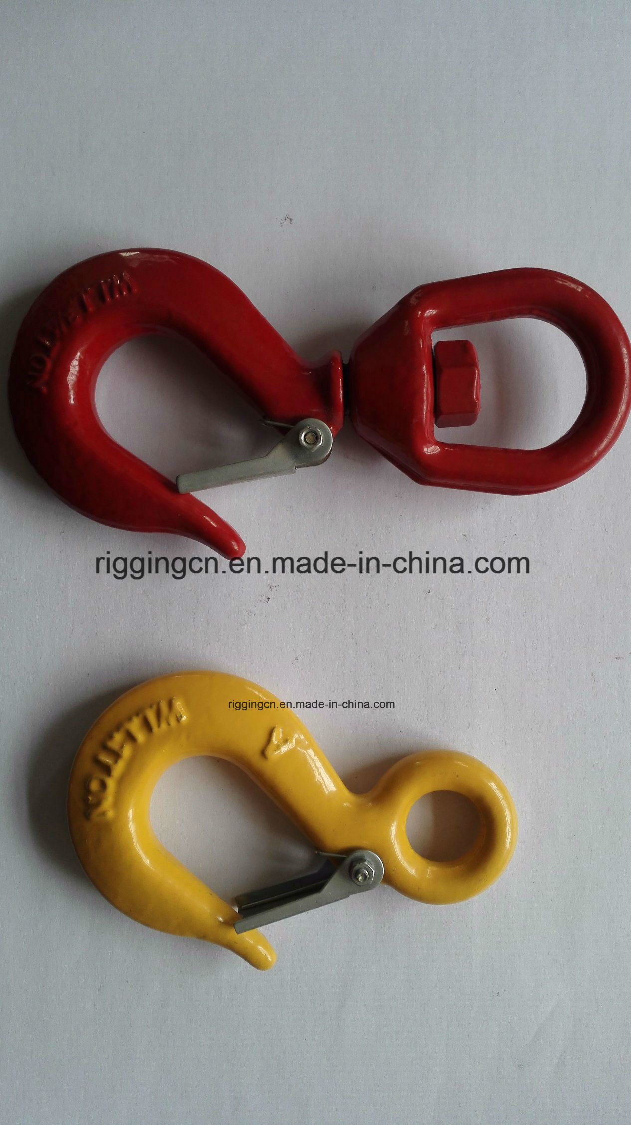 Forged High Quality S322 Swivel Hook