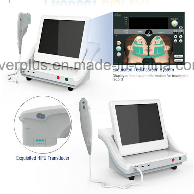 Hifu High Intensity Focused Ultrasound Slimming Machine Hf6