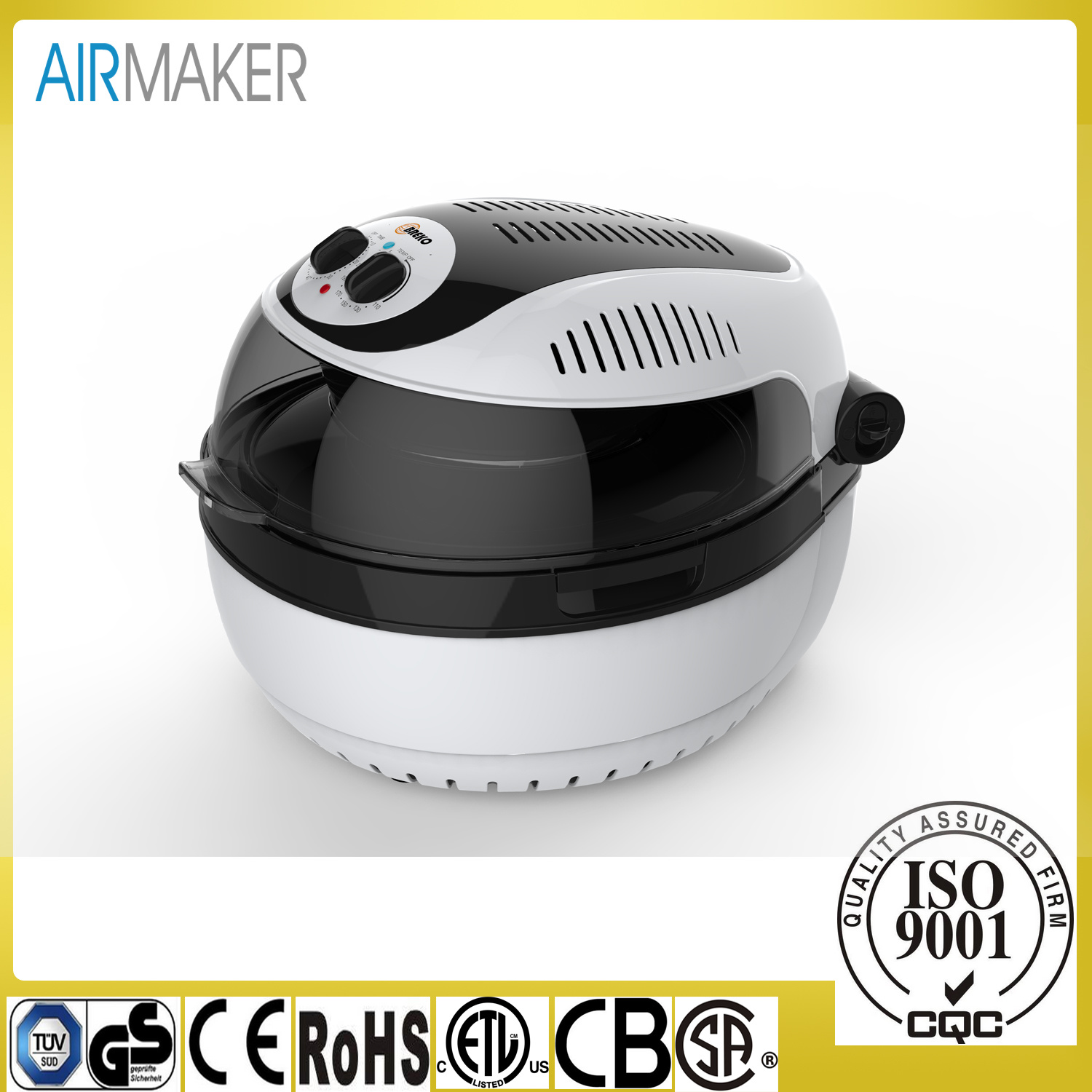 2017 10L New Design Round Multi Function Air Fryer GS/Ce/Rohs