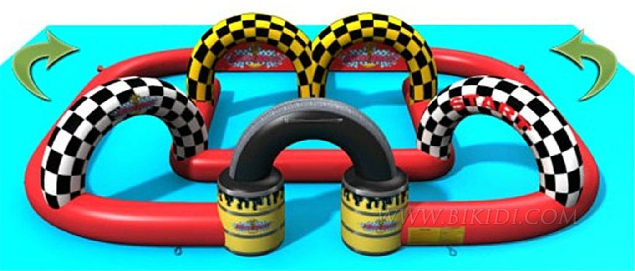 Inflatable Race Track for Go Karts, Sport Games, Mega Rally B6036