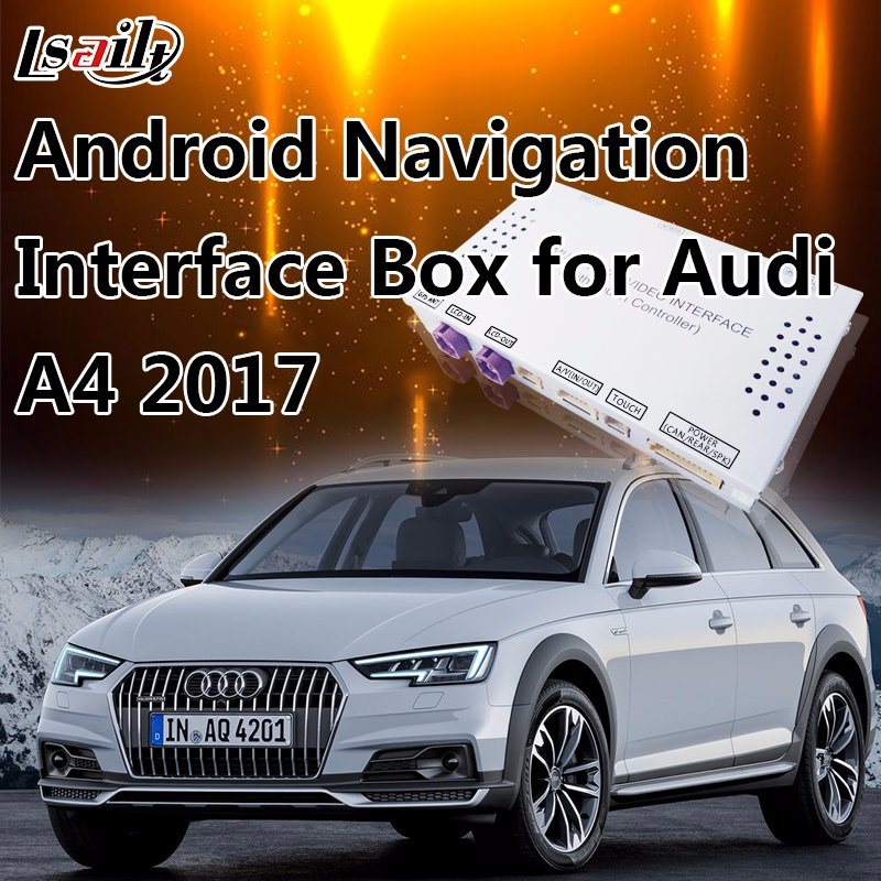 7 Inch Car GPS Navigation for Audi A4 2017 4gmmi System