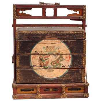 chinese antique furniture wedding chest h05c0009 chinese