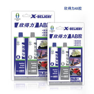 Acrylic ab adhesive x delight