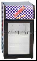 Upright Veverage Display Cooler Glass Door Beverage Vegetable Mini Fridge Sc-20h