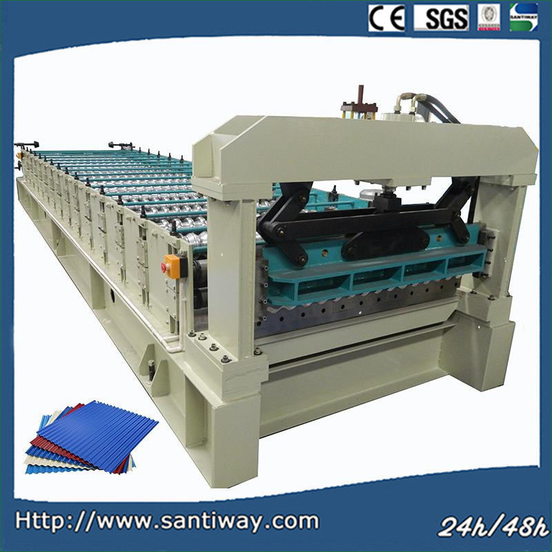 Roof Panel Cold Roll Forming Machine for Steel