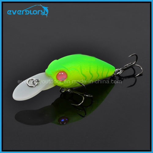 Hot a Mini Swinger Crank Hard Fishing Lures China 35mm 3.8g Crankbait Bkk Hook Depth 1.6-2m Carp Fishing Tackle