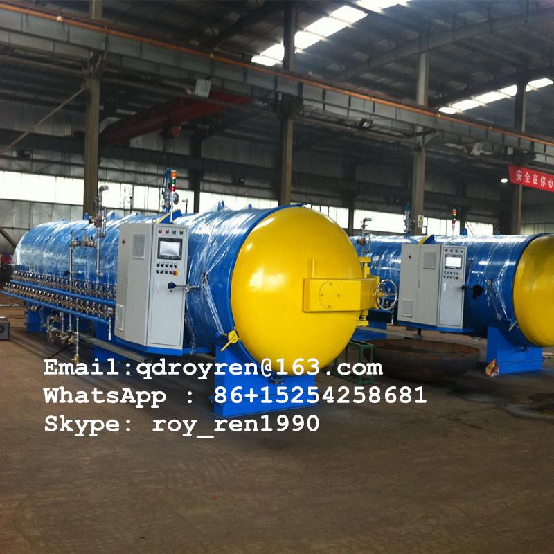 2016 Hot Rubber Autoclave Machine, Rubber Vulcanizing Boiler, Tire Retreading Boiler
