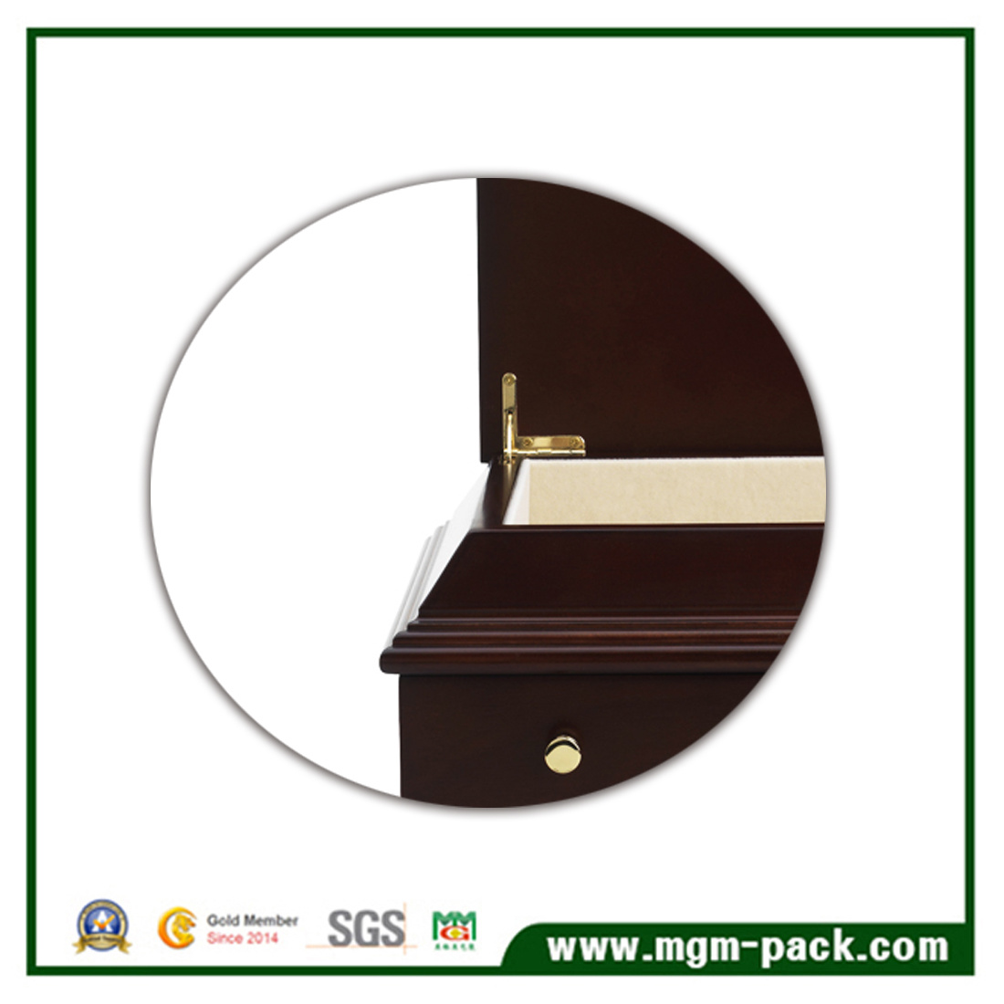 Luxury Decorative Wooden Jewelry Storage Box