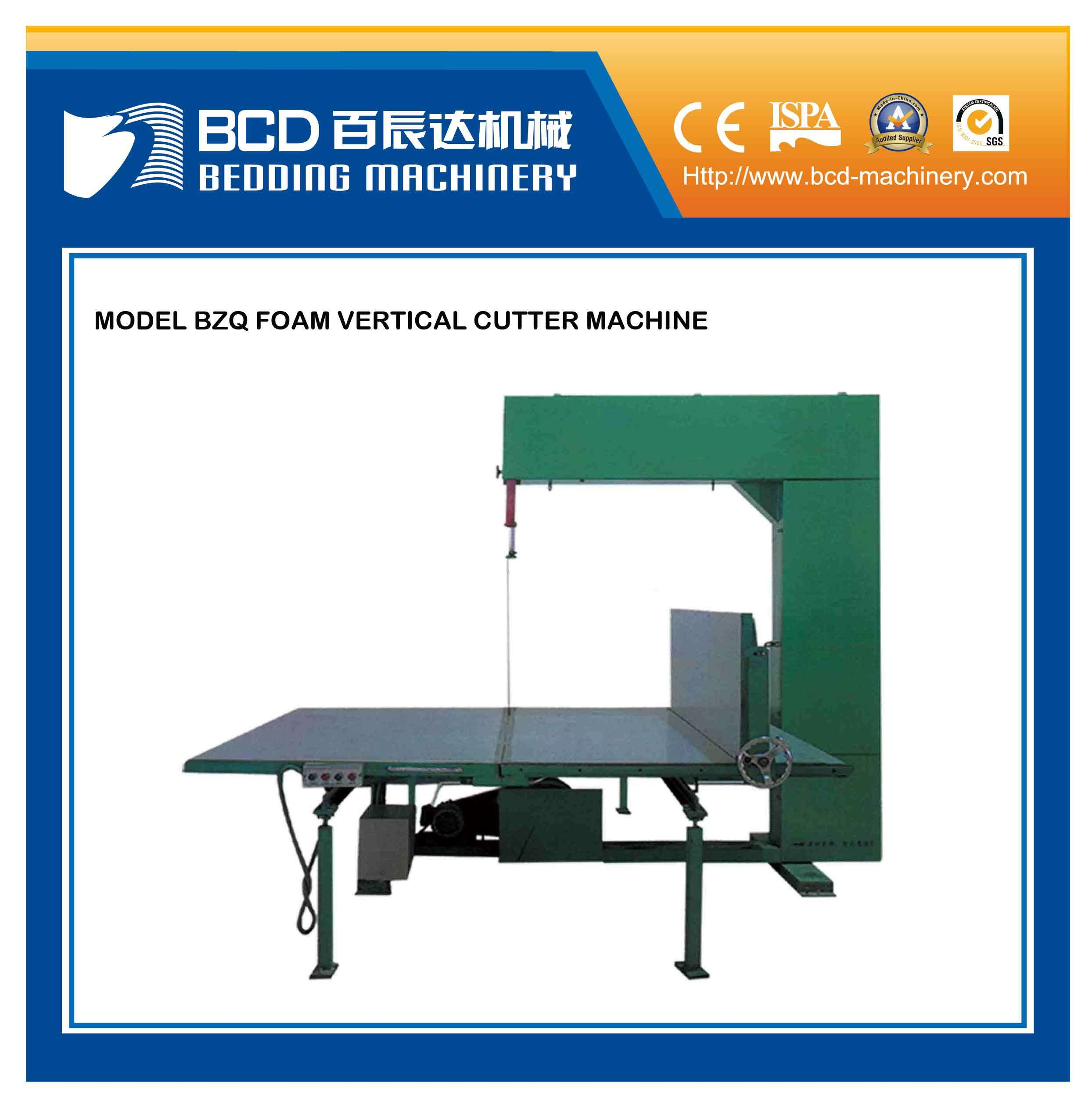 China Foam Vertical Cutting Machine Bzq Photos