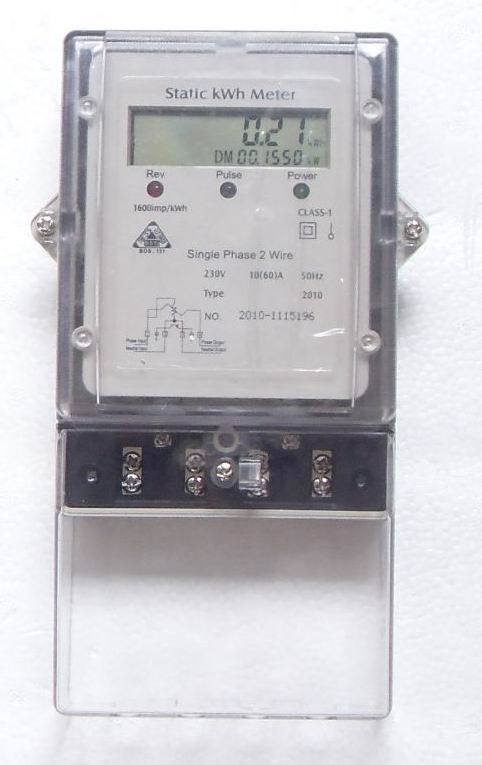 Electrical: Electrical Meter on