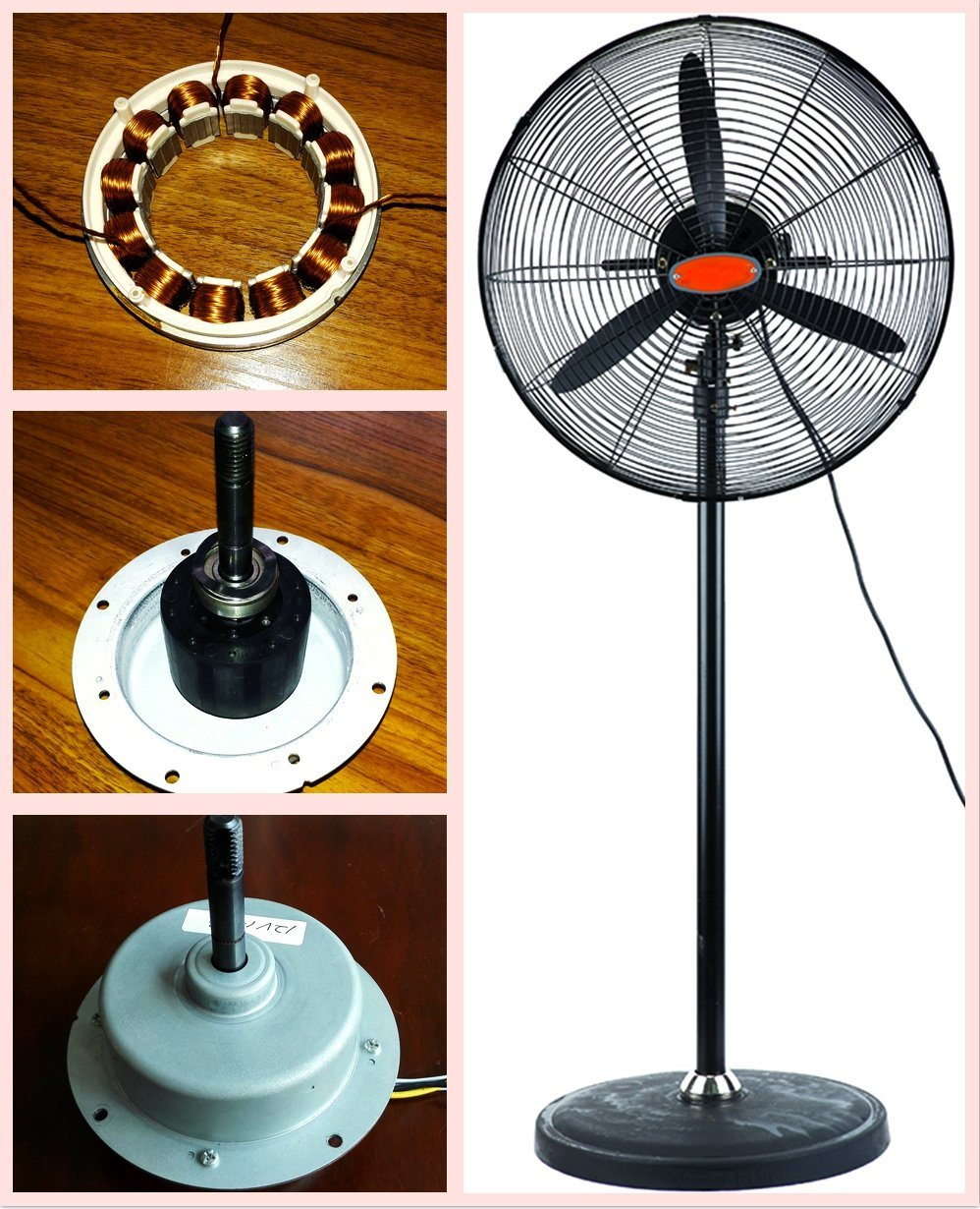 "20"" 26"" 30"" Inverter Industrial Stand Fan with Energy Saving BLDC Motor"