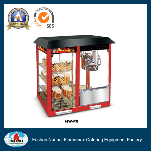 Automatic Commercial Popcorn Machine with Warming Showcase (HW-P8)