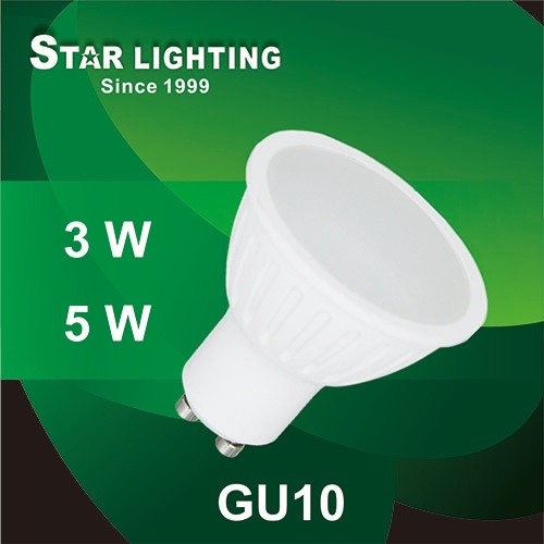 New Small Power 3W GU10 LED Spotlight