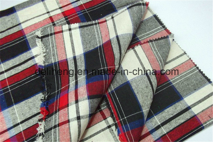 Eyecatching Wholesale Cheap 100% Cotton Yarn Dyed Checks Fabric