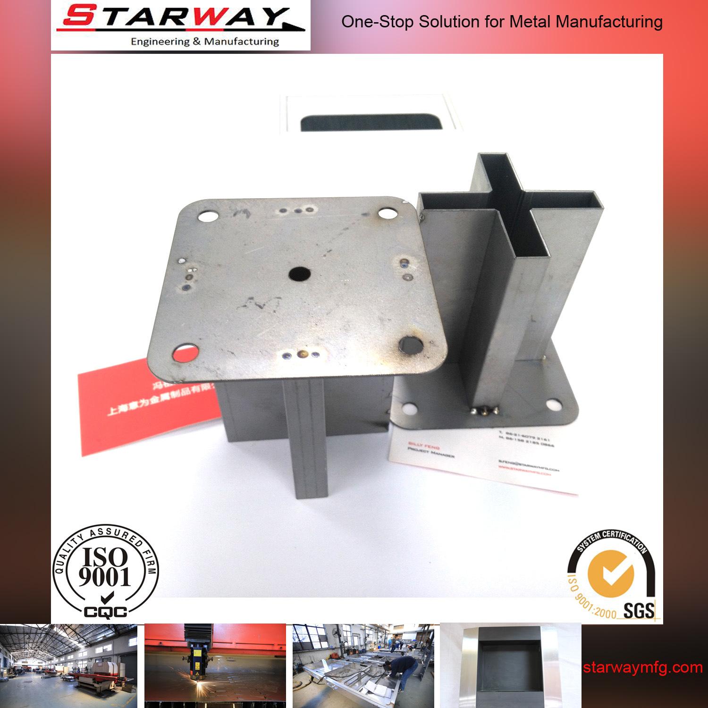Sheet Metal Fabrication Laser Cut Welding Parts Shanghai Factroy