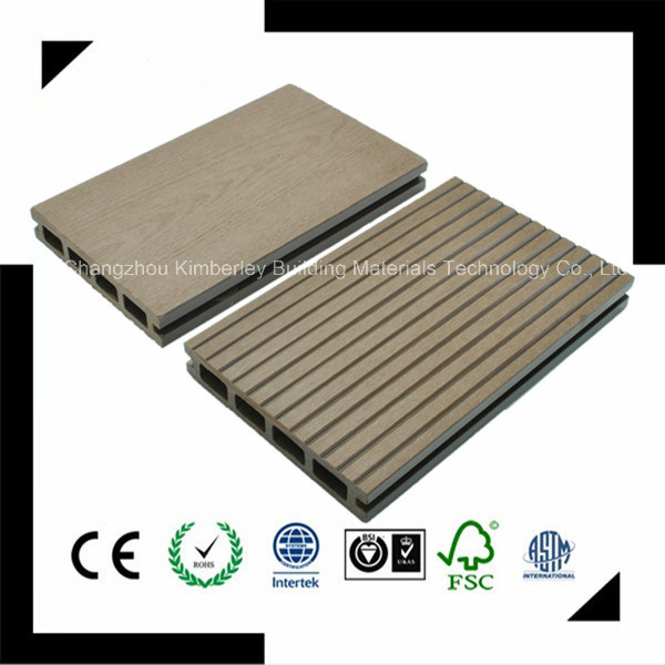 Made in China Factory Direct Sell Waterproof Recycling Wood Plastic Composite WPC Outdoor Flooring 125*23