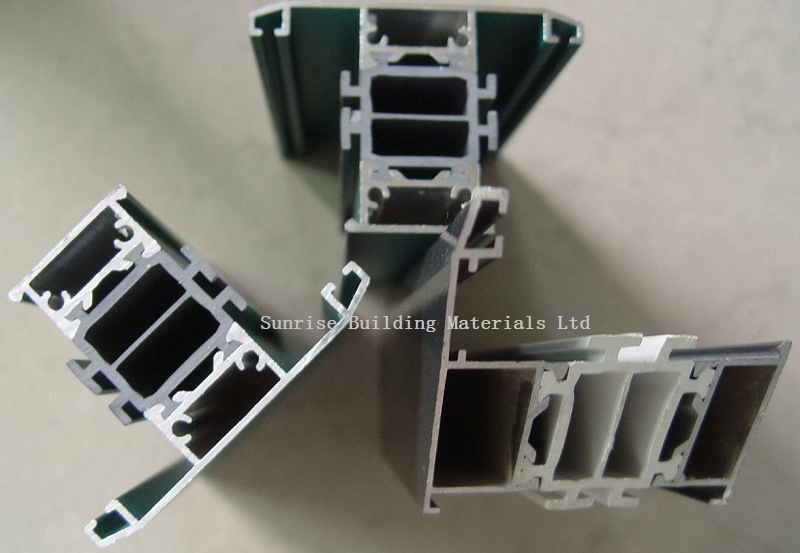 Aluminium Extrusion for Thermal Break Windows & Doors