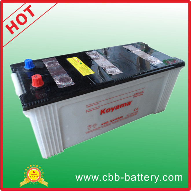 Hot Sale Heavy Duty Truck Battery - (N150) -12V150ah