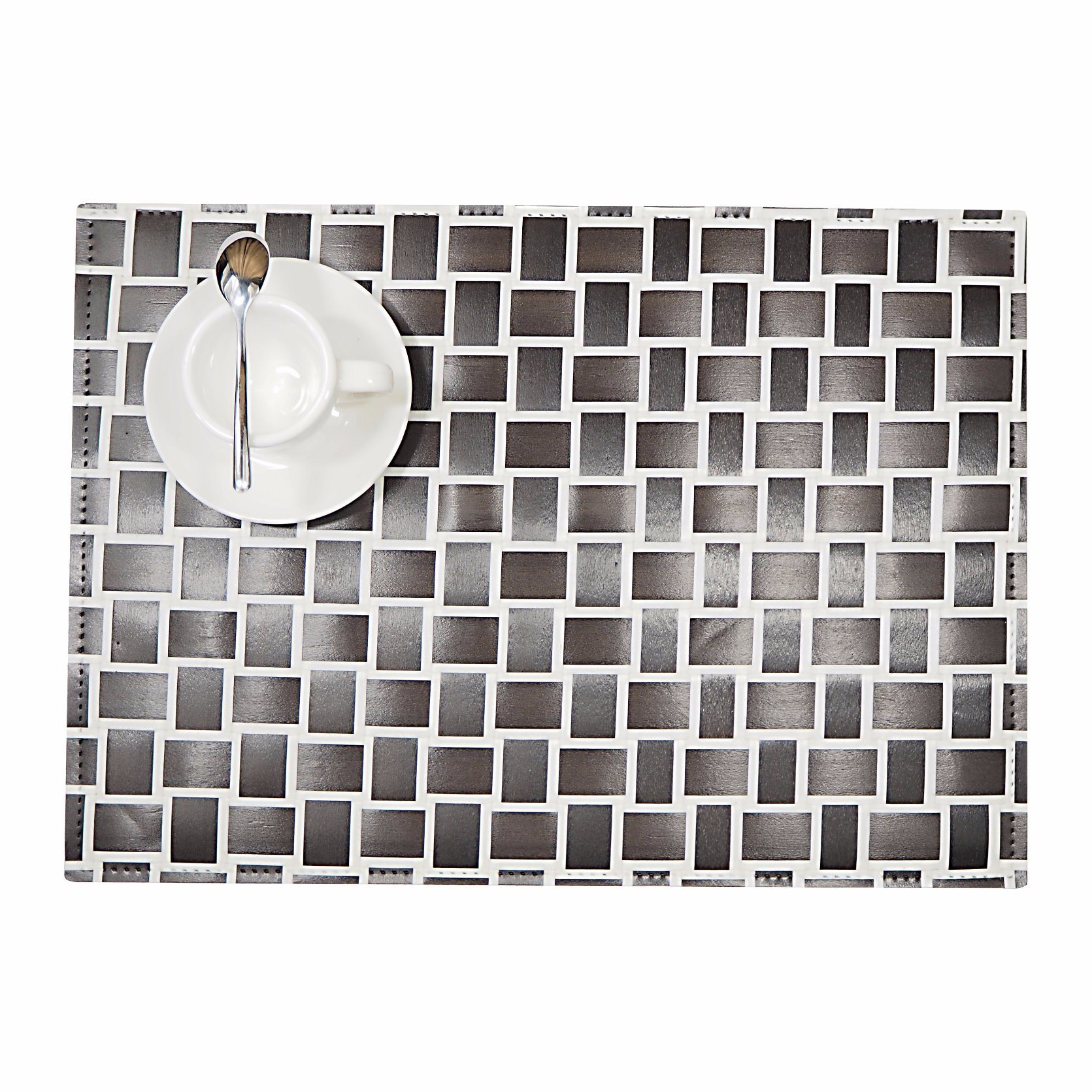 Mixed Color 100% Polyester Woven Placemat for Tabletop