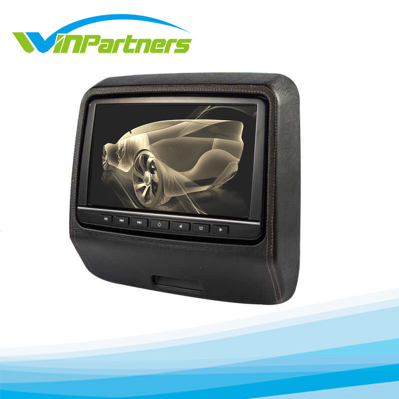9inch Clip on Headrest Monitor/DVD Player with Games
