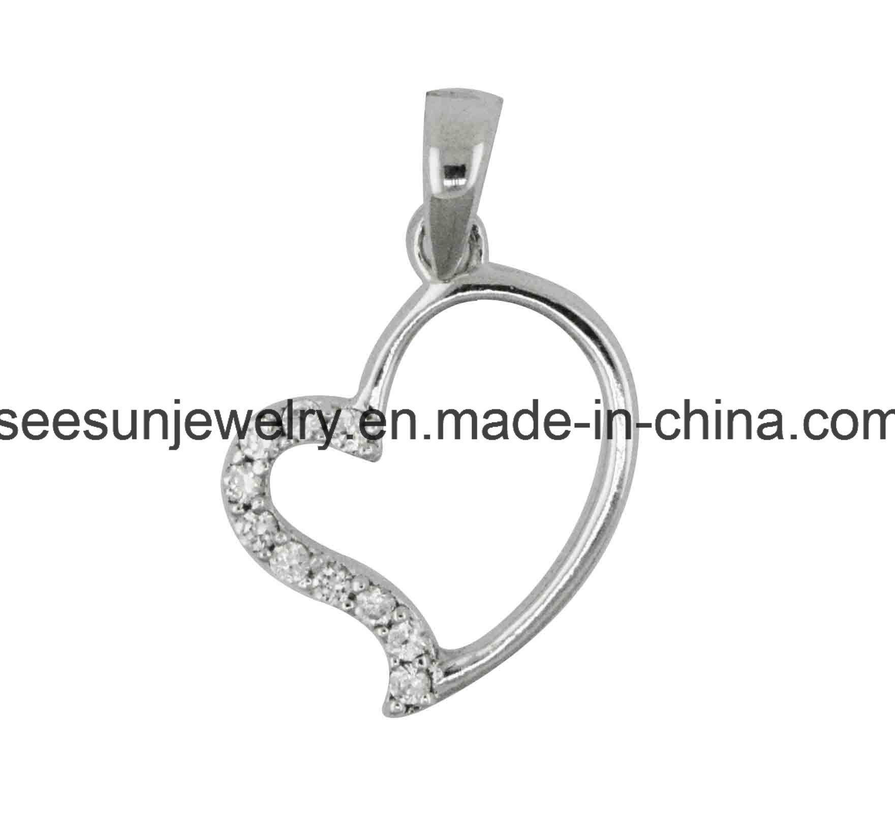 2016 Hotsale 925 Silver Heart Pendant for Love