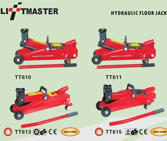 3t Low Profile Hydraulic Floor Jack with Double Pump