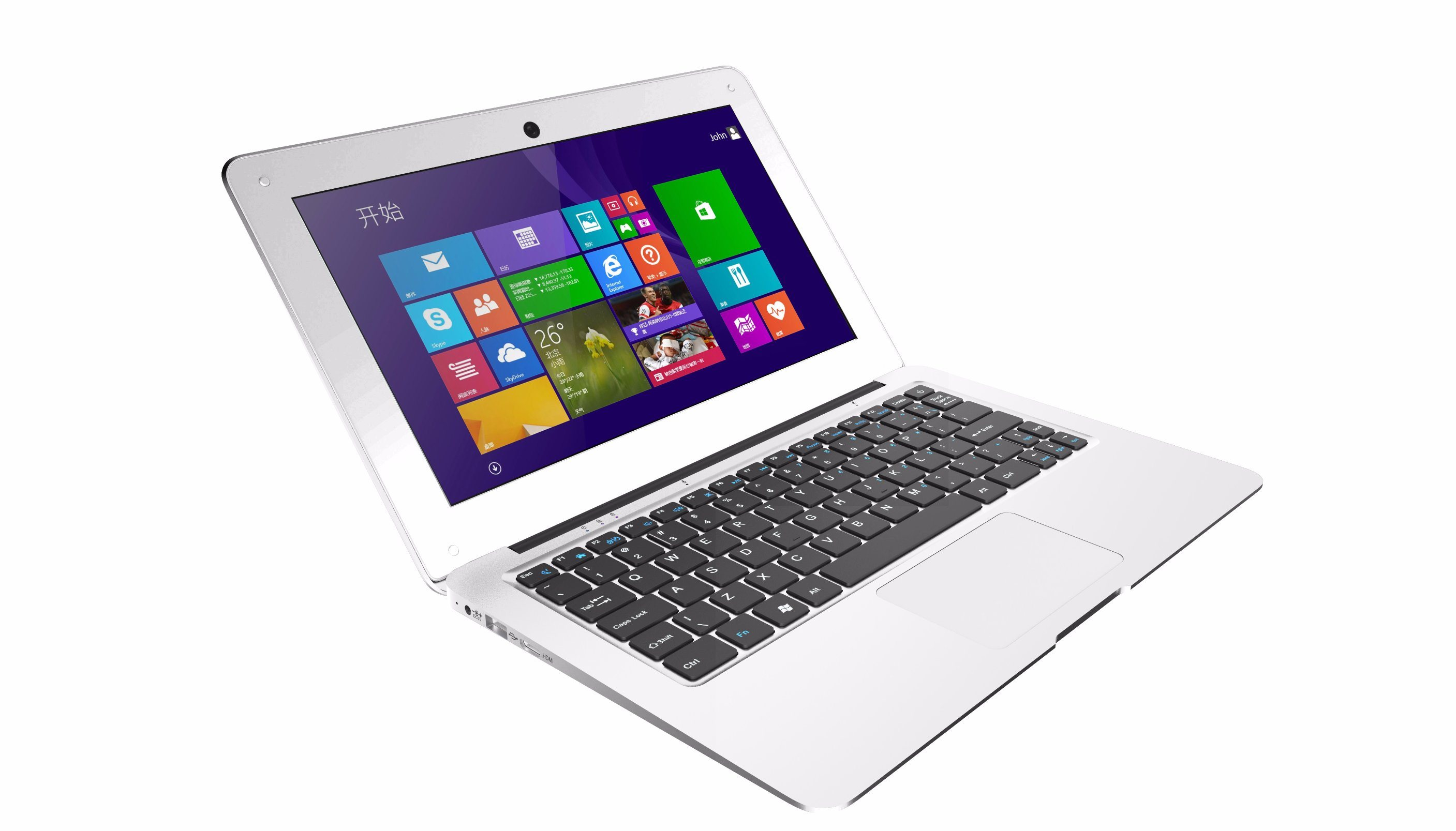 Hot Sale 11.6 Inch Intel Atom Mini Laptop Computer