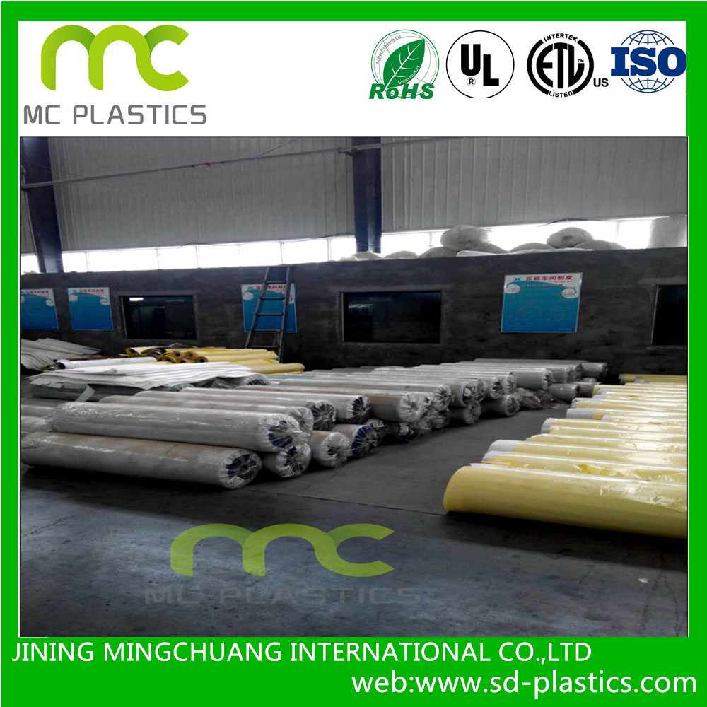 PVC Lamination/Coated Tarpaulin/Banner Film for Outdoor Advertisement