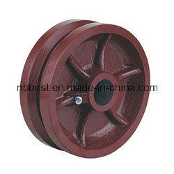 China Wholesale V-Goove Ductile Iron Wheels
